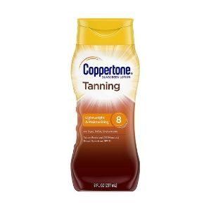 Coppertone Tanning Sunscreen Lotion Broad Spectrum SPF 15